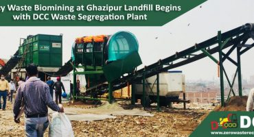 Waste Segregation Plant at Ghazipur Landfill