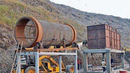 Zero waste plant Ghazipur