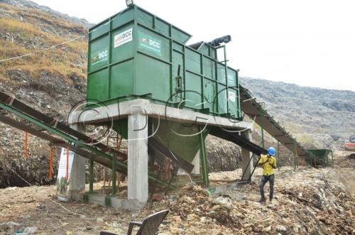 Zero Waste - Ballistic Separator machine