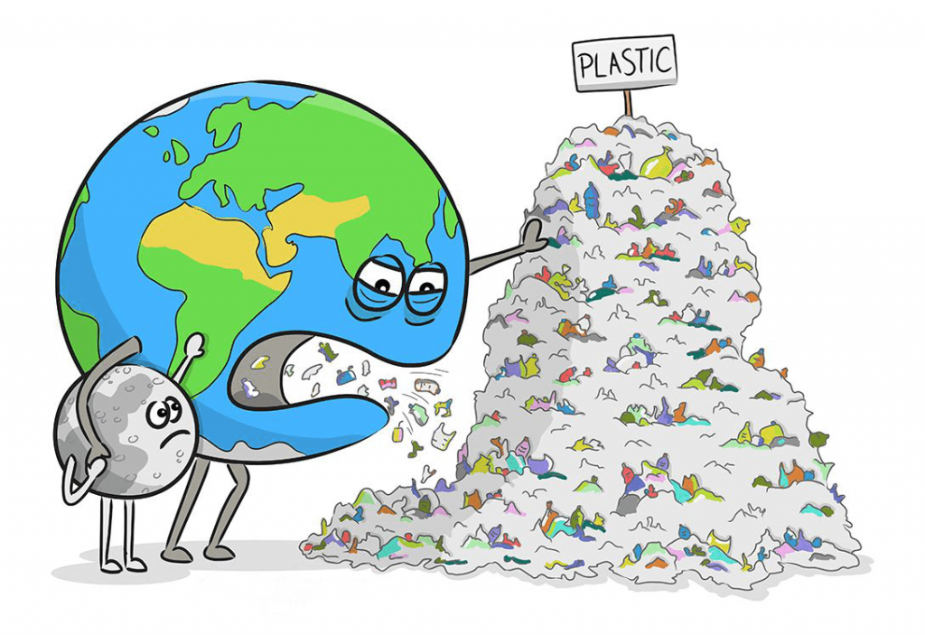 Solve the plastic problem in India